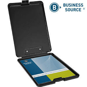 Business Source Plastic Storage Clipboard